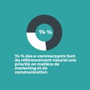 Infographie : le référencement naturel en tête des priorités des e-commerçants