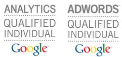 Analytics adwords certification individuelle