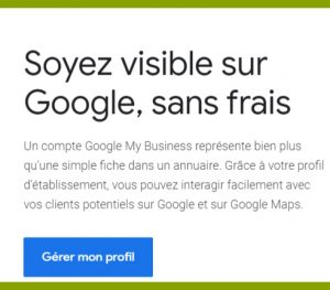 guide accueil Google My Business